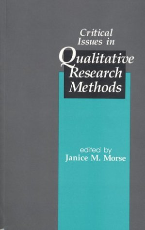 9780803950429: Critical Issues in Qualitative Research Methods