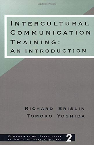 9780803950757: Intercultural Communication Training: An Introduction (Communicating Effectively in Multicultural Contexts)