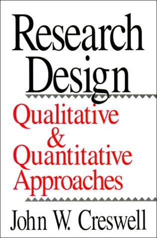 Research Design: Qualitative and Quantitative Approaches: John W. Creswell