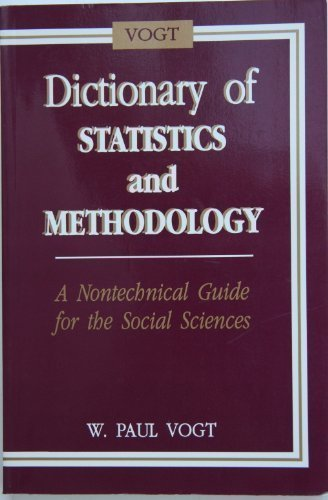 9780803952775: Dictionary of Statistics and Methodology: A Non-Technical Guide for the Social Sciences