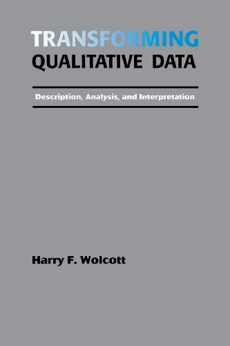 9780803952812: Transforming Qualitative Data: Description, Analysis, and Interpretation
