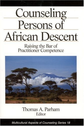 9780803953451: Counseling Persons of African Descent: Raising the Bar of Practitioner Competence (Multicultural Aspects of Counseling And Psychotherapy)