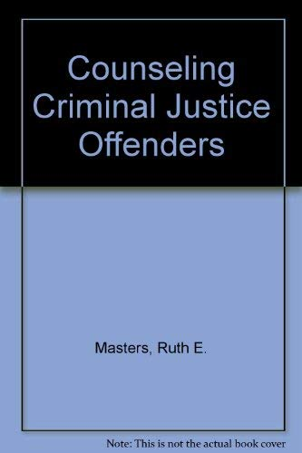9780803955325: Counseling Criminal Justice Offenders