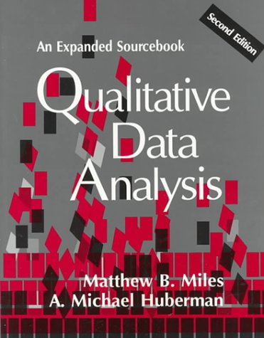 9780803955400: Qualitative Data Analysis: An Expanded Sourcebook, 2nd Edition