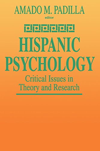 9780803955530: Hispanic Psychology: Critical Issues in Theory and Research