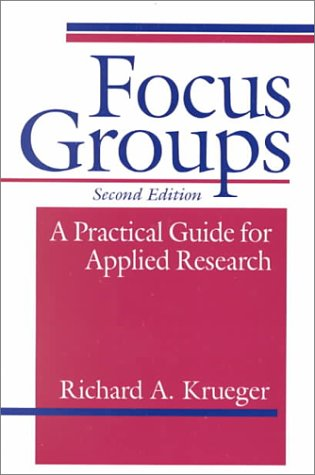 9780803955677: Focus Groups: A Practical Guide for Applied Research, Second Edition