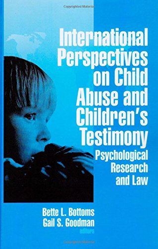 9780803956285: International Perspectives on Child Abuse and Children′s Testimony: Psychological Research and Law