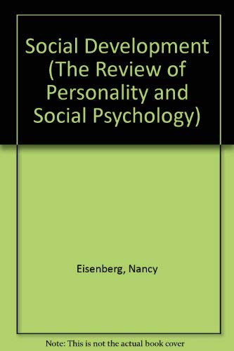 9780803956841: Social Development (The Review of Personality and Social Psychology)