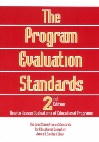9780803957312: The Program Evaluation Standards: How to Assess Evaluations of Educational Programs