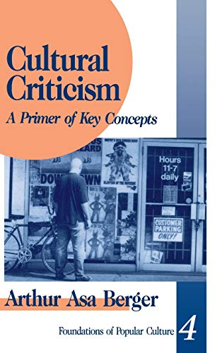 9780803957336: Cultural Criticism: A Primer of Key Concepts