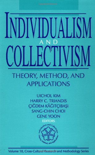 9780803957633: Individualism and Collectivism: Theory, Method, and Applications (Cross Cultural Research and Methodology)