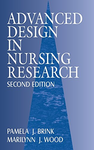 9780803958005: Advanced Design in Nursing Research