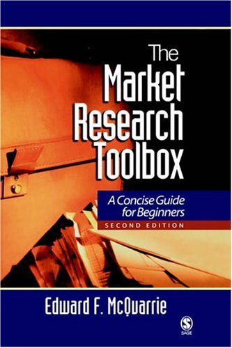 9780803958562: The Market Research Toolbox: A Concise Guide for Beginners