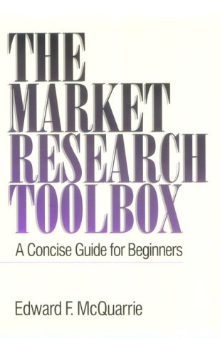 9780803958579: The Market Research Toolbox: A Concise Guide for Beginners