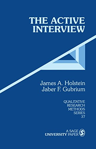 9780803958951: The Active Interview (Qualitative Research Methods)