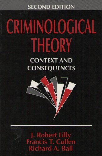 9780803959019: Criminological Theory: Context and Consequences