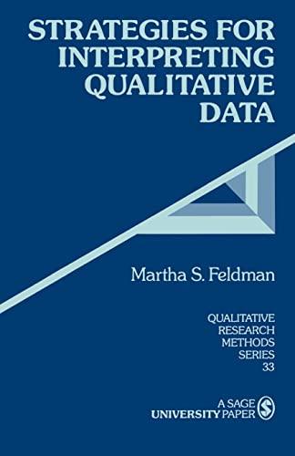 9780803959163: Strategies for Interpreting Qualitative Data (Qualitative Research Methods)