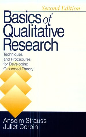 9780803959408: Basics of Qualitative Research: Techniques and Procedures for Developing Grounded Theory
