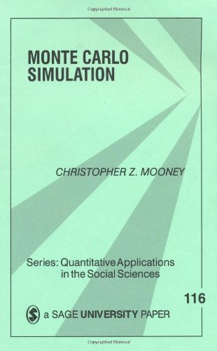 9780803959439: Monte Carlo Simulation (Quantitative Applications in the Social Sciences)