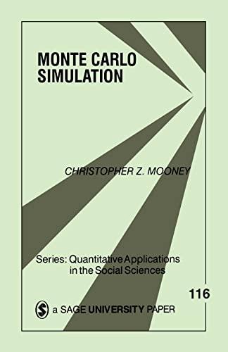 9780803959439: Monte Carlo Simulation