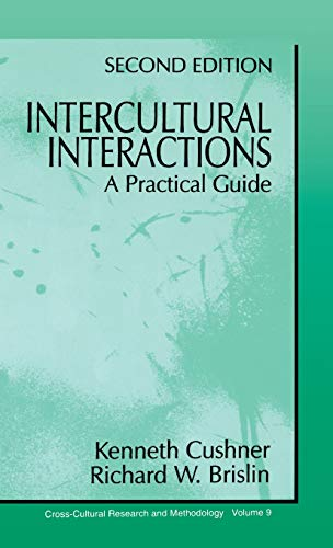 9780803959903: Intercultural Interactions: A Practical Guide (Cross Cultural Research and Methodology)