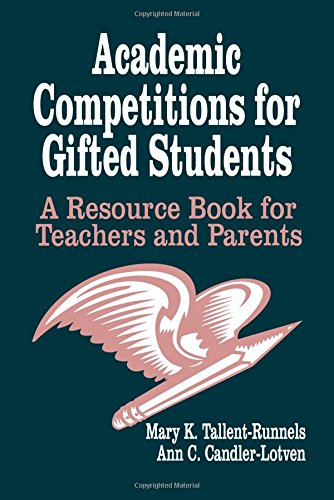 9780803961562: Academic Competitions for Gifted Students: A Resource Book for Teachers and Parents