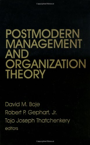 9780803970045: Postmodern Management and Organization Theory