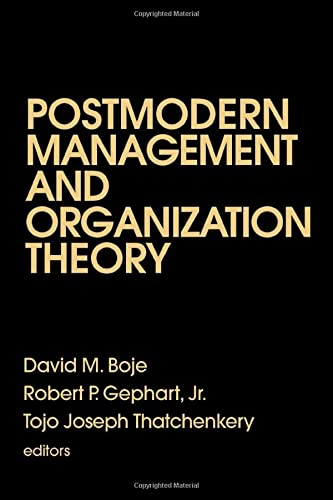 9780803970052: Postmodern Management and Organization Theory