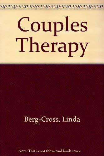9780803971288: Couples Therapy
