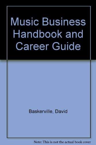 9780803971530: Music Business Handbook and Career Guide