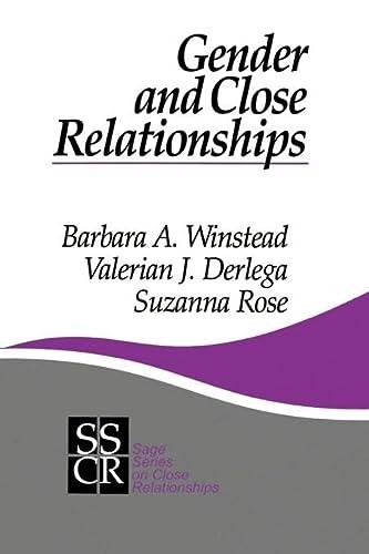 9780803971677: Gender and Close Relationships (SAGE Series on Close Relationships)
