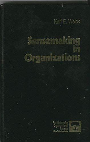 9780803971769: Sensemaking in Organizations (Foundations for Organizational Science)