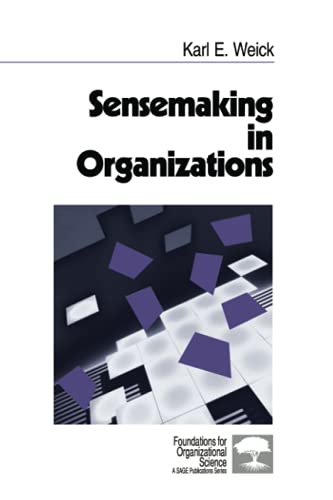 9780803971776: Sensemaking in Organizations (Foundations for Organizational Science)