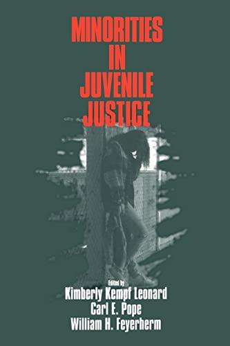 Minorities in Juvenile Justice.: Leonard, Kimberley Kempf