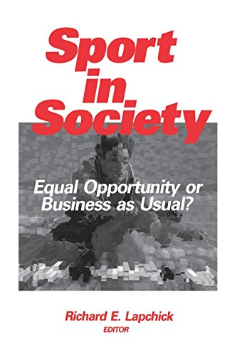 9780803972810: Sport in Society: Equal Opportunity or Business as Usual?