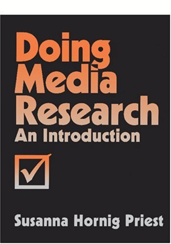 9780803972933: Doing Media Research: An Introduction