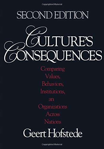 9780803973244: Culture′s Consequences: Comparing Values, Behaviors, Institutions and Organizations Across Nations