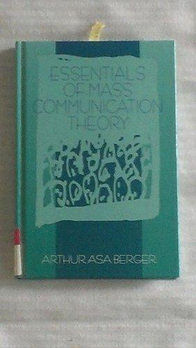 9780803973565: Essentials of Mass Communication Theory