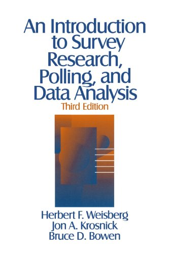 9780803974029: An Introduction to Survey Research, Polling, and Data Analysis