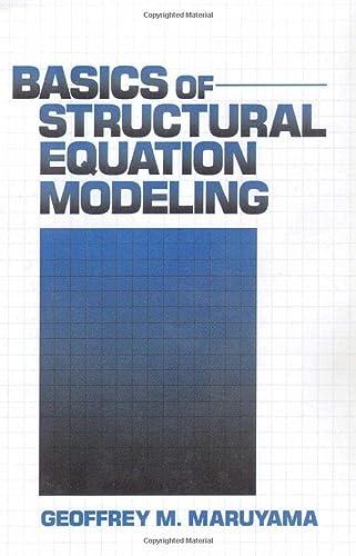 9780803974098: Basics of Structural Equation Modeling