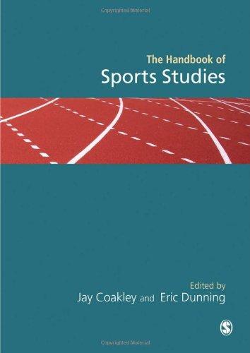 9780803975521: Handbook of Sports Studies