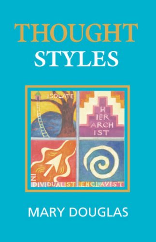 9780803976559: Thought Styles: Critical Essays on Good Taste