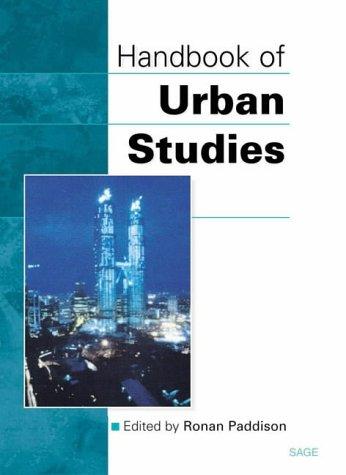 9780803976955: Handbook of Urban Studies