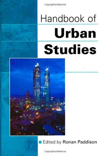 9780803976955: Handbook of Urban Studies