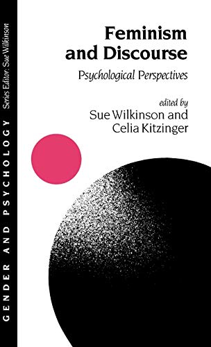 9780803978010: Feminism and Discourse: Psychological Perspectives (Gender and Psychology series)