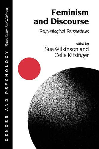 9780803978027: Feminism and Discourse: Psychological Perspectives (Gender and Psychology series)
