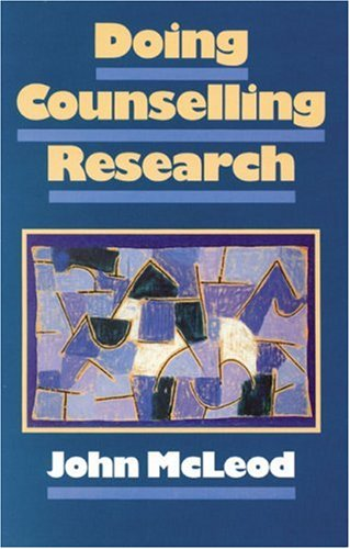 9780803978034: Doing Counselling Research