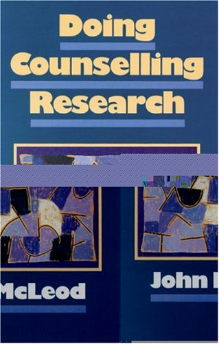 9780803978041: Doing Counselling Research