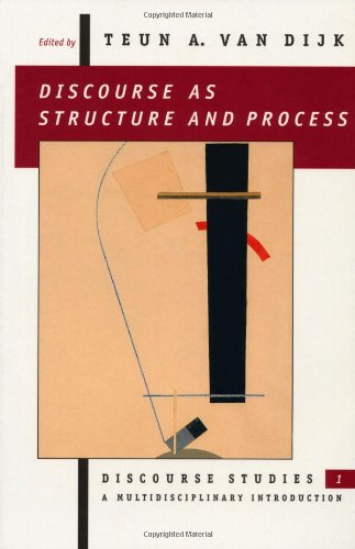 9780803978454: 1: Discourse as Structure & Process: A Multidisciplinary Introduction: Discourse as Structure and Process v. 1 (Discourse Studies: A Multidisciplinary Introductio)
