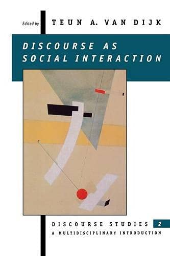 9780803978478: Discourse as Social Interaction: Discourse as Social Interactions v. 2 (Discourse Studies: A Multidisciplinary Introductio)